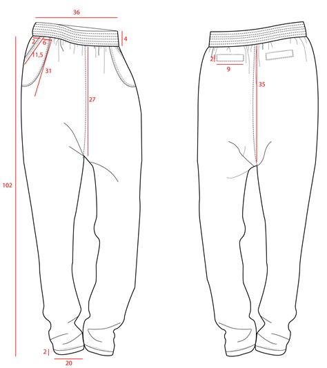 harem template jogger drawings sketch coloring page
