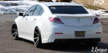 acura tl custom wheels verona m150 20x10 5 et tire size