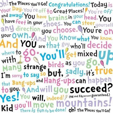 our journey quot oh the places you ll 1000 images about 6th grade graduation dr seuss oh the