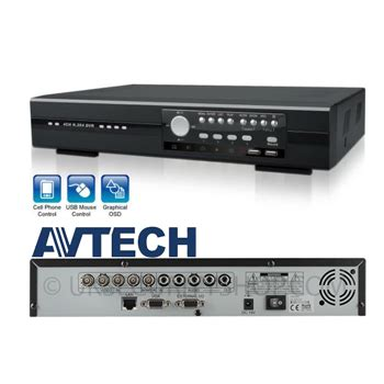 Cctv Avtech 8 Channel dvr avtech 4 channel kpd674zb