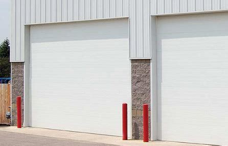 insulated commercial garage doors commercial garage doors amzac garage doors