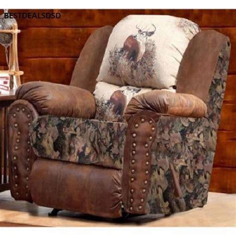 deer couch camo deer recliner camo deer recliner rustic mancave