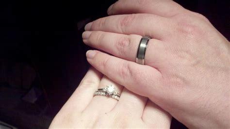 large hands rings weddingbee