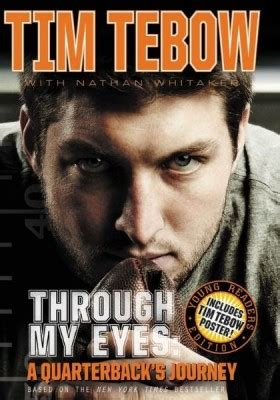 tim tebow through my book report for the boys a read for even reluctant readers