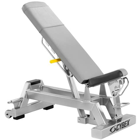 cybex bench cybex adjustable locking bench gym source