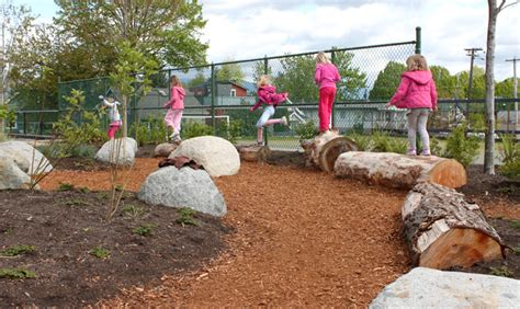 natural backyard playscapes playscapes brock elementary school natural playscape with cost information skala