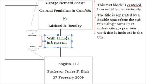understanding  writing   mla format style