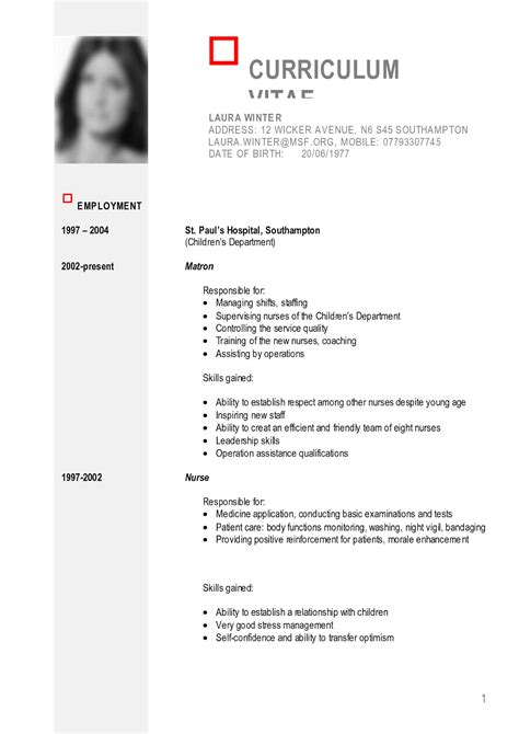 sample curriculum vitae logistics manager with sample list