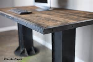 Industrial Style Table L Modern Industrial Desk Table Steel I Beam Loft