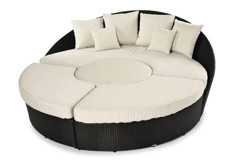 divano circolare divano circolare in plastica intrecciata arena