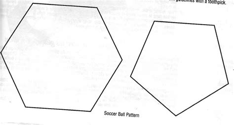 pattern ball shape 5 best images of soccer ball template printable simple