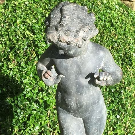 Garden Of Lead Antiques Atlas Antique Lead Garden Statue Of A Nymph