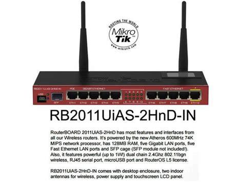 Mikrotik Router Wireless Rb751g 2hnd mikrotik rb2011ui routerboard rb2011uias 2hnd in wireless router 5 gigabit lan newegg