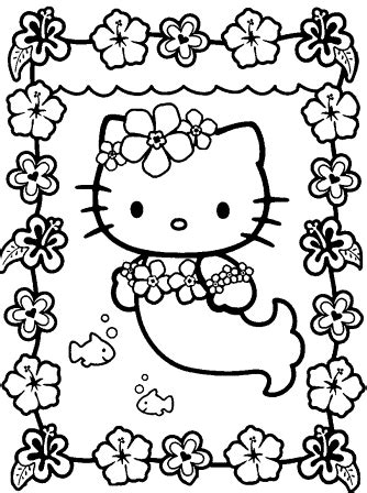 coloring pages hello kitty coloring pages hello kitty