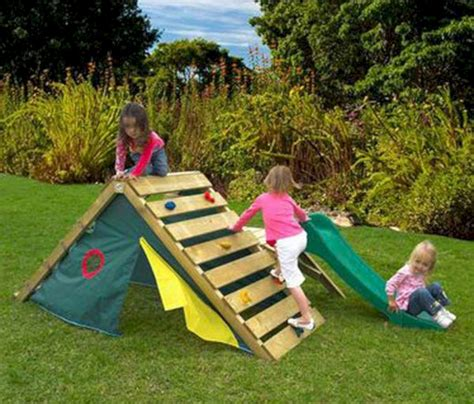 some diy playground ideas for your backyard