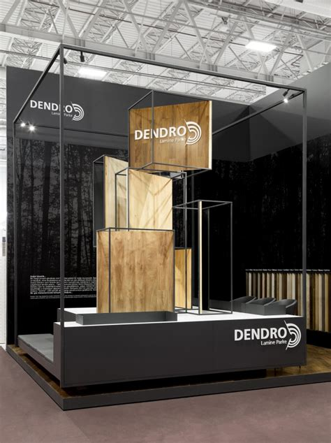booth design retail dendro stand at turkeybuild 2016 by bcn designstudio