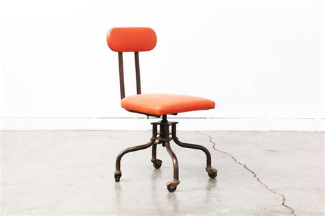 Vintage Industrial Office Chair by Vintage Industrial Metal Leather Office Chair Vintage