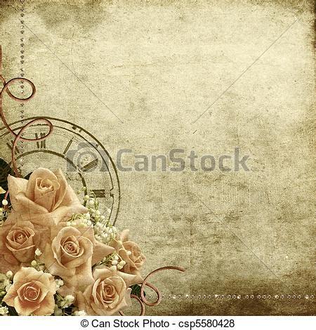 stock illustratie van retro ouderwetse romantische