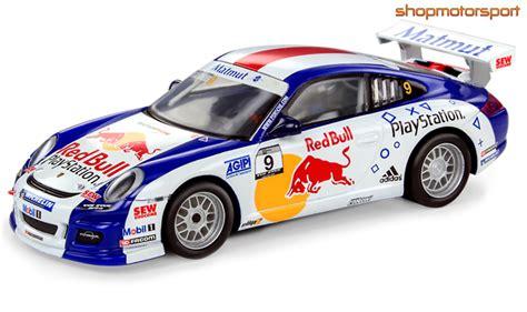 porsche slot car porsche 911 gt3 scalextric a10191s300 sebastian loeb