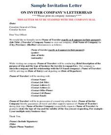sle business invitation letter 6 exles in word pdf