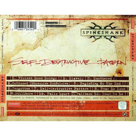 self destructive pattern spineshank lyrics self destructive pattern spineshank mp3 buy full