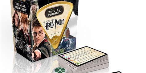 giochi da tavolo harry potter disponibile il trivial pursuit di harry potter ecco come