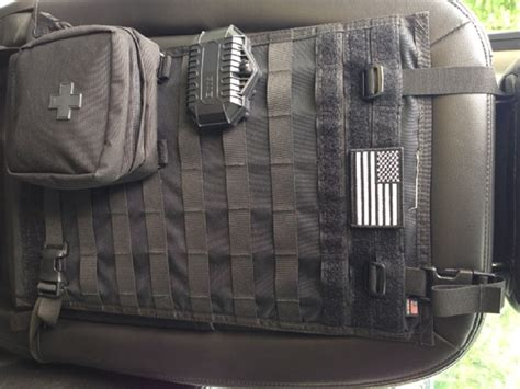 molle back panel blue ridge overland gear molle seat back panel review