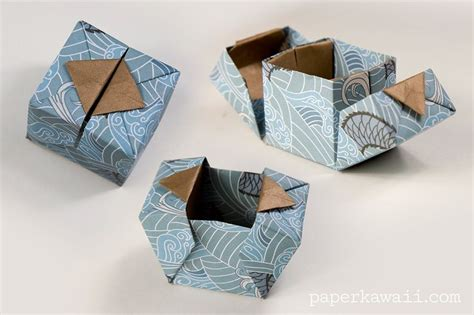 Origami Boxes With Lids Templates - best 25 gift box templates ideas on box