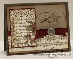 pin by joy lake on ink me very much pinterest handmade christmas card by teneale teneale w joy