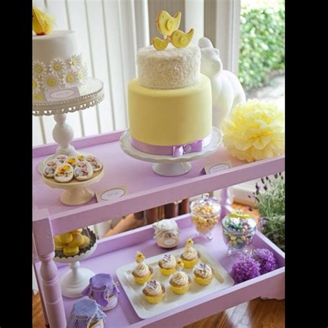 Pink And Lavender Baby Shower by Lemon Lavender Baby Shower Cake Via Pink Frosting Baby