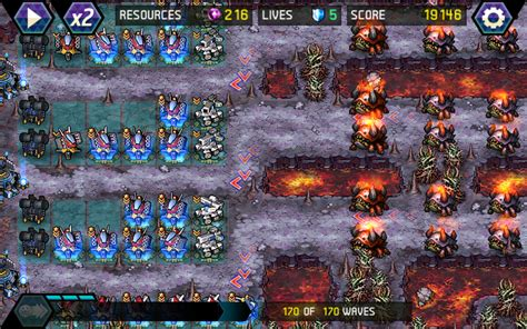 best android tower defense tower defense infinite war android apps on play