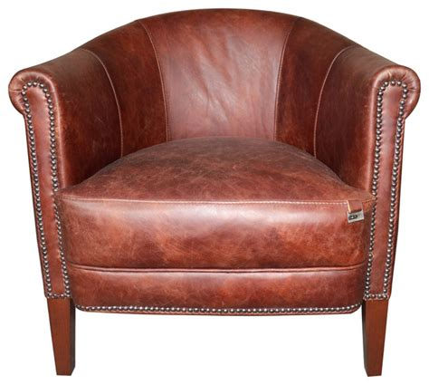 brown leather studded armchair brown studded leather armchair rustic armchairs