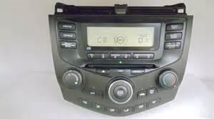 03 04 05 06 07 honda accord radio stereo cd player aux
