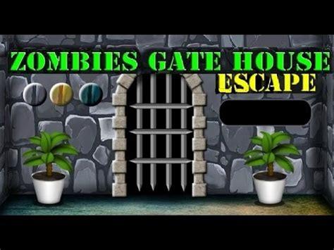 tutorial zombie house escape zombies gate house escape walkthrough gamesnovel youtube