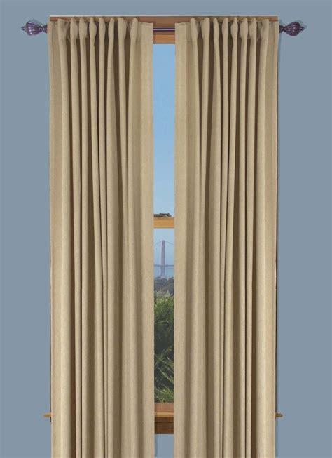 Glasgow two way rod pocket back tab curtain panel
