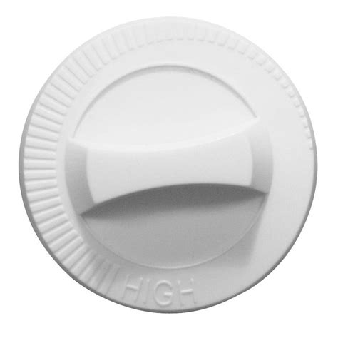 Home Depot Stove Knobs by Range Kleen Electric Replacement Knob In White 1 Pack