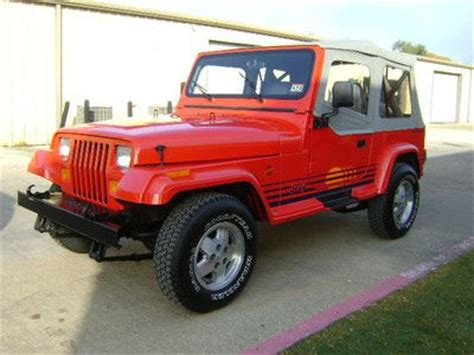 Jeep Wrangler Islander For Sale Buy Used Jeep Yj Wrangler Islander Edition 6 Cyl Auto