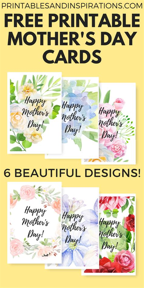 printable flowers mother s day free printable mothers day cards with beautiful flowers