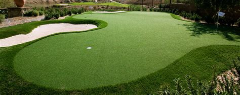 why artificial grass for golf courses and putting greens