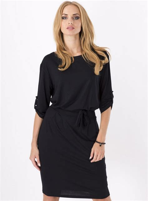 day dresses s casual solid color half sleeve belt day dress