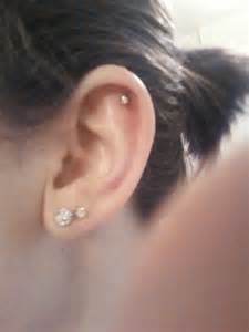 my simple stud cartilage piercing earrings