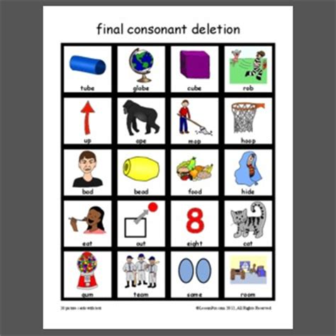 consonant deletion worksheets 28 consonant deletion worksheets consonant deletion categories speech best 25 consonant