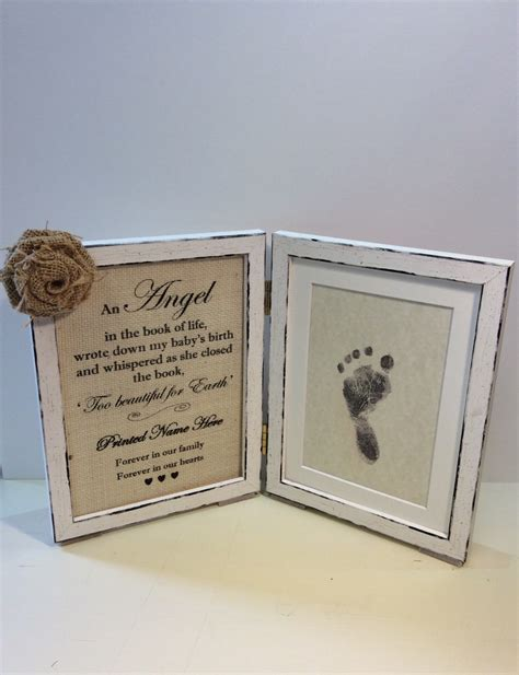 Handmade Memorial Gifts - gift ideas for parents of stillborn baby home