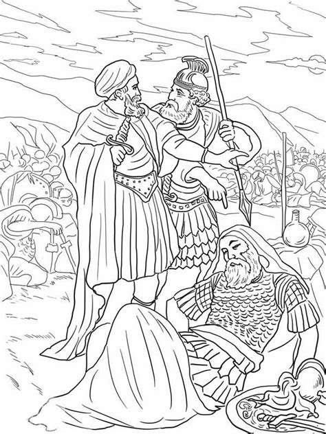 coloring pages for king saul king saul coloring page coloring home