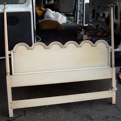 Queen Size Painted Headboard For Sale Antiques Com