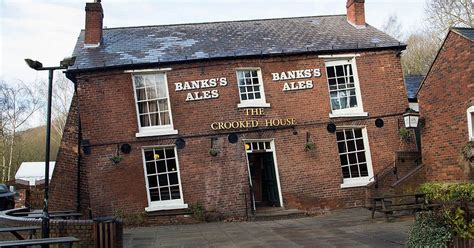 crooked house britain s drunkest pub this tipsy looking tavern really