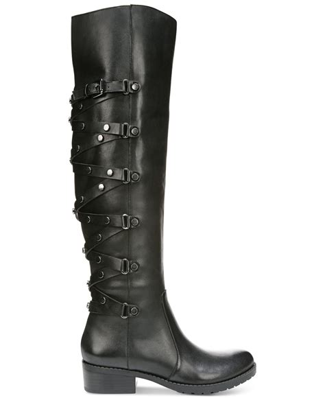 carlos santana boots lyst carlos by carlos santana metropolis boots in black