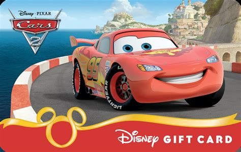 Online Disney Gift Card - ka chow new cars 2 disney gift cards available online at disney parks