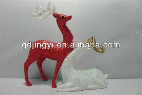 promoational acrylic outdoor christmas reindeer figurines