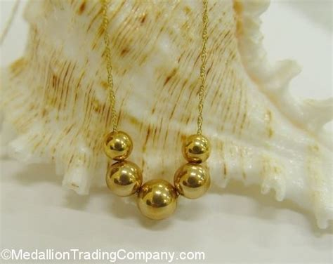 14k gold add a bead necklace vintage 14k gold authentic add a bead chain 20 quot necklace